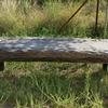 Antik dohányzóasztal teakfa XXL