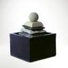 Csobogó,piramis labdával