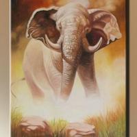 06. - Elefánt a vízparton -