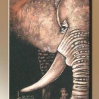08. - Elefánt fej -