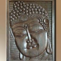Fa kép Buddha 02.160x120cm -
