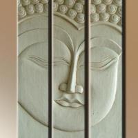 Fa kép Buddha 03. -