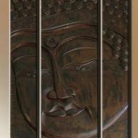 Fa kép Buddha 04. 100x70cm -