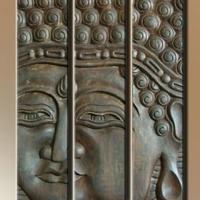 Fa kép Buddha 06. 60x80cm -