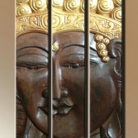 Fa kép Buddha 08. -