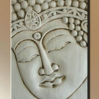Fa kép Buddha 09. 60x85cm -