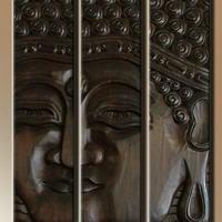 Fa kép Buddha 12. 100x75cm -