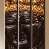 Fa kép Buddha 13. -