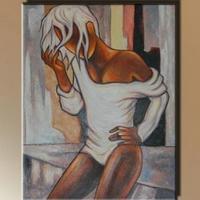 Figurális festmény 09. -