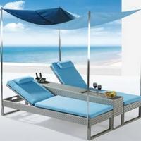 Azorina napozó/pihenőágy - Kerti bútor