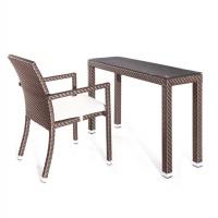Tecoma konzol/íróasztal székkel - Kerti bútor