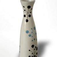 Váza kék pöttyös -