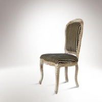 Antik szék-csíkos -