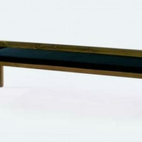 Design pad teakfa párnával 200cm -
