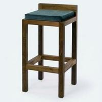Design bárszék teakfa 90cm -