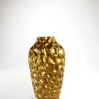Arany színű asztali váza -