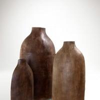 Barna kerámia váza 3 féle méretben -