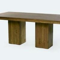 Design étkezőasztal teakfa 200cm -