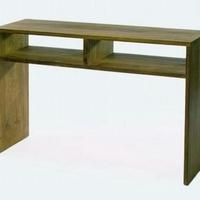 Design konzol asztal teakfa 120cm -