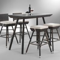 Yew bárszett 6 személyes - Kerti bútor