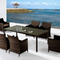Sage étkezőgarnitúra 6 személyes  - Kerti bútor