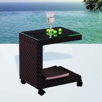 Angelica gurulós lerakóasztal - Kerti bútor