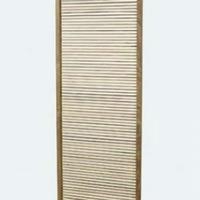 Design térelválasztó teakfa 60cm széles -