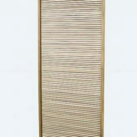 Design térelválasztó teakfa 80cm széles -