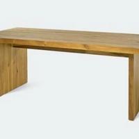 Design étkezőasztal olajozott akác 210cm -