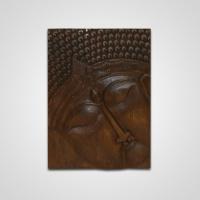 Buddha panel 1 db-os középbarna -