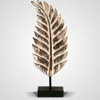 Szobor fa levél közepes 55 cm -