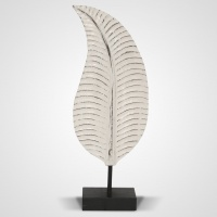 Szobor fa toll közepes 55 cm -