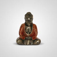 Szobor műgyanta Buddha kicsi 20 cm -