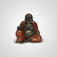 Szobor műgyanta Buddha kínai 20 cm -