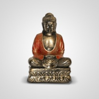 Szobor műgyanta Buddha közepes 25 cm -