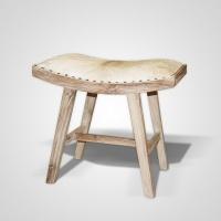 Shogun szék white washed -
