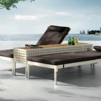 Taco dupla napozóágy - Kerti bútor