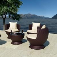 Succisa kávézó szett 3. (2db fotel+1db asztal) - Kerti bútor