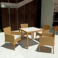 Maui étkezőgarnitúra 4 személyes - Kerti bútor