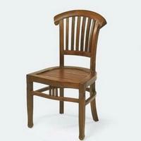 Gyarmat szék Banteng sötét teakfa -