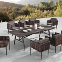 Kitaibela étkezőgarnitúra 8 személyes - Kerti bútor