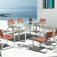Haiti 6 személyes étkezőgarnitúra  - Kerti bútor