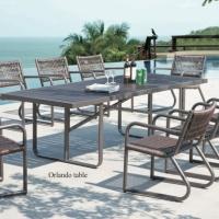 Haiti étkezőgarnitúra 8 személyes - Kerti bútor