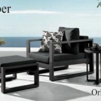 Amber kávézó szett (2 fotellel) - Kerti bútor