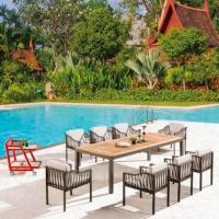 Hyacinth 8 személyes étkezőgatnitúra  - Kerti bútor