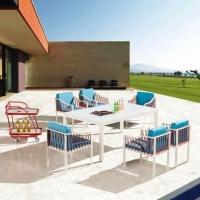 Hyacinth 6 személyes étkezőgarnitúra - Kerti bútor