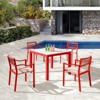 Hyacinth 4 személyes étkezőgarnitúra  - Kerti bútor