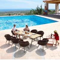 Verona 8 személyes étkezőgarnitúra - Kerti bútor