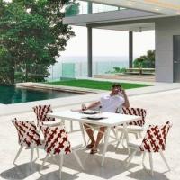 Verona 6 személyes étkezőgarnitúra  - Kerti bútor