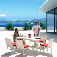 Florence 6 személyes étkezőgarnitúra 1.  - Kerti bútor